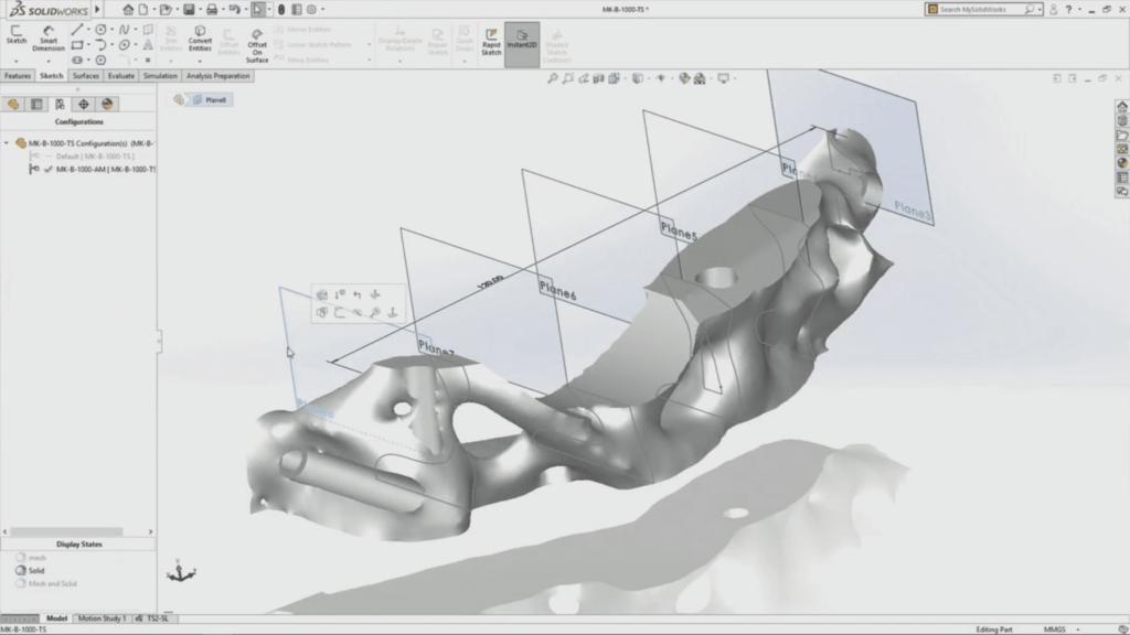 Создание 3D объектов SolidWorks
